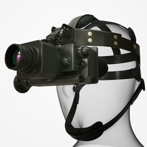 thermal vision goggles 3d model