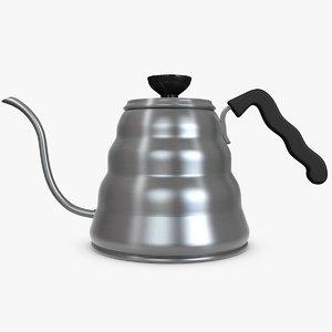 c4d kettle pour coffee