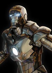 ironman 3d max