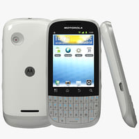 motorola white 3d 3ds