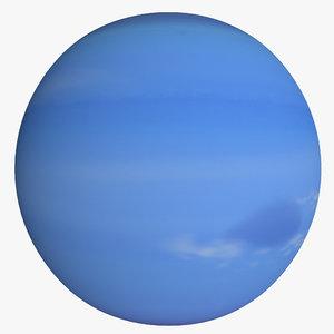 neptune planet 3d c4d