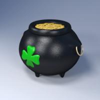 3d ma pot gold coins