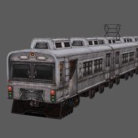Low Poly Train 02
