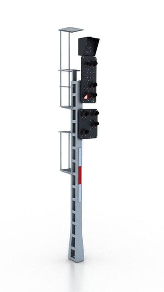 max traffic light railway