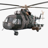 Soviet Transport Helicopter Mil Mi-8