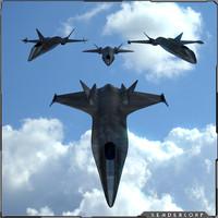 3d model aircraft