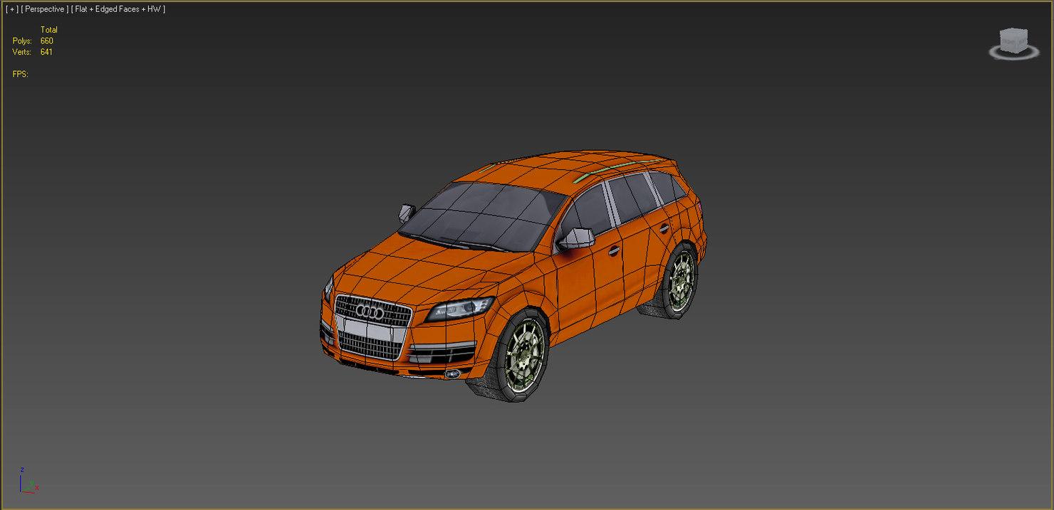cars - set 3d model