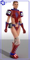 sci-fi v4 armor poser pz3