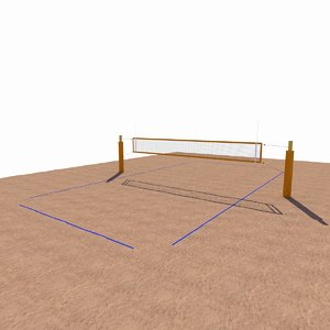 beach volleyball net max