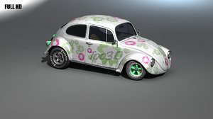 3d model beetle