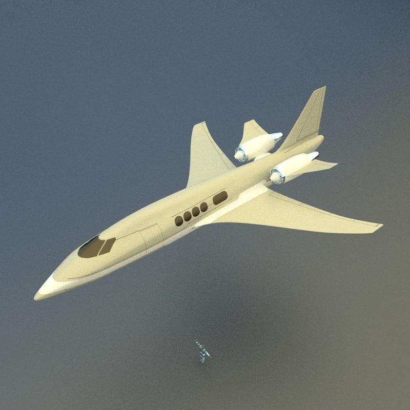 free obj mode private jet