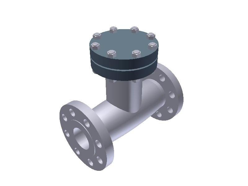 3ds max check valve type ball