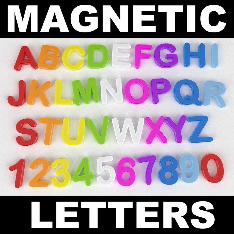 magnetic alphabet max