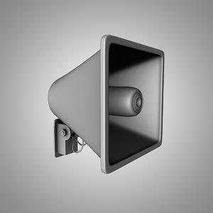 maya loudspeaker speak speaker