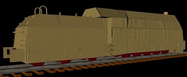 german wkii panzerlok br 3d x