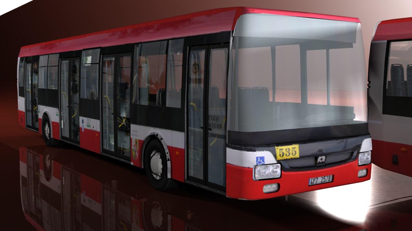 3d model bus games nb12 nb18