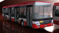 3d model bus games nb12 nb18