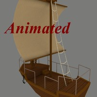 3d sailing ship boat