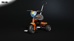 c4d toy tricycle