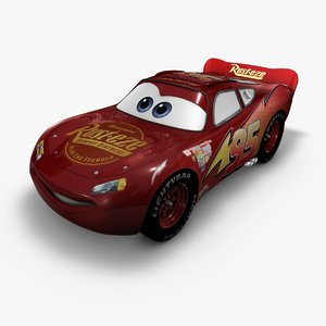 cinema4d lightning mcqueen