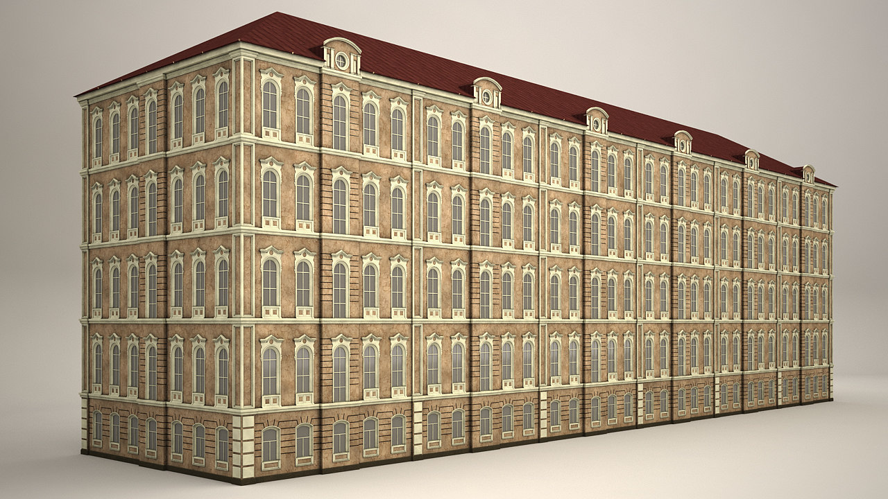 3d model houses architecture