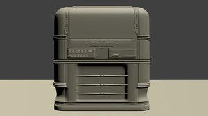 wurlitzer 61 countertop jukebox obj