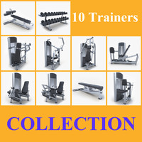 Collection fitness equipment
