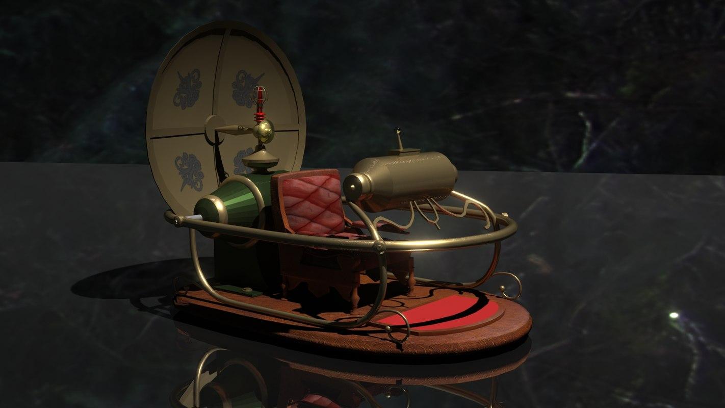 3d model timemachine