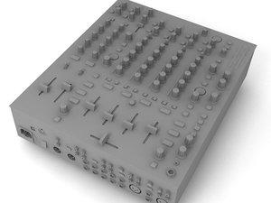 3d max dj mixer