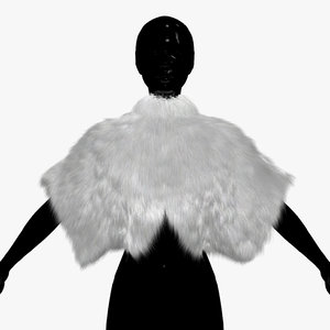 3d model manto hair fur