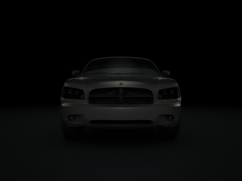 3ds max dodge charger