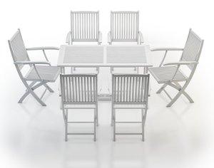 garden furniture teak richmond 3d max