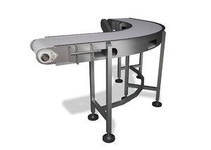 segmenter conveyor machine c4d