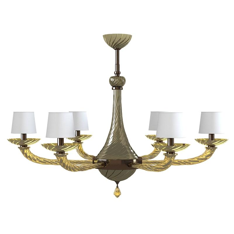 3d donghia giro chandelier