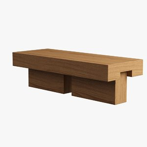 3d max garden bench
