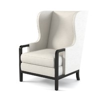 3dsmax harrison wing chair