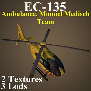 eurocopter anw helicopter 3d max