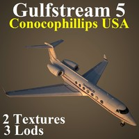 3d model gulfstream 5 usa