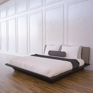 3dsmax hotel bed