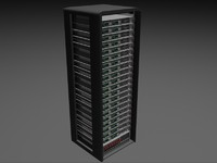 Server Rack - Plain Storage