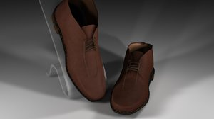 cinema4d chukka shoe