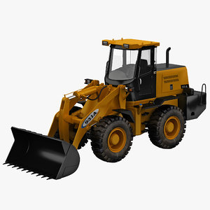 wheel loader yutong 931a 3d 3ds