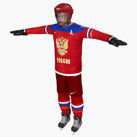 Ovechkin Sochi 2014 Team Russia Character