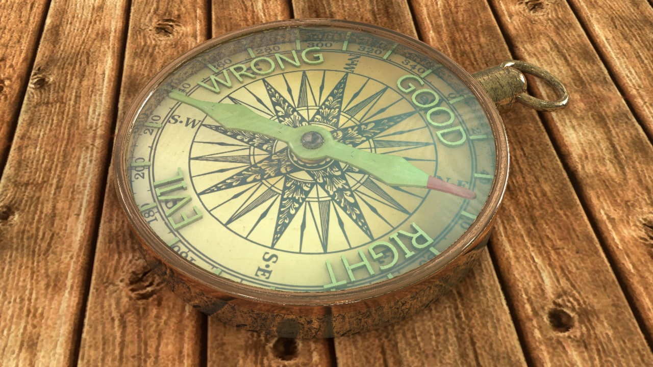 moral compass Instead of a moral compass, people have been given enormous freedom to  construct their own lives and make their own moral decisions.