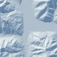 3d terrain realistic model