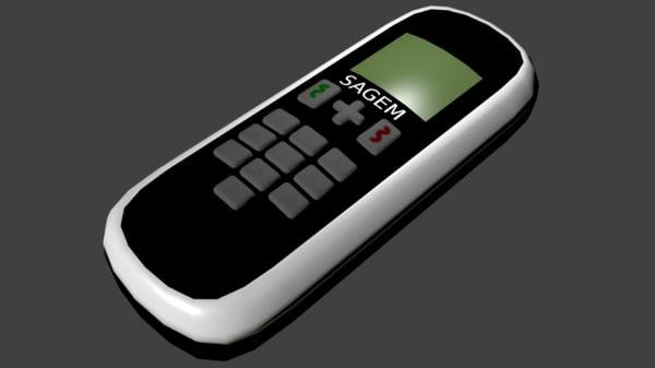 3ds sagem cordless phone
