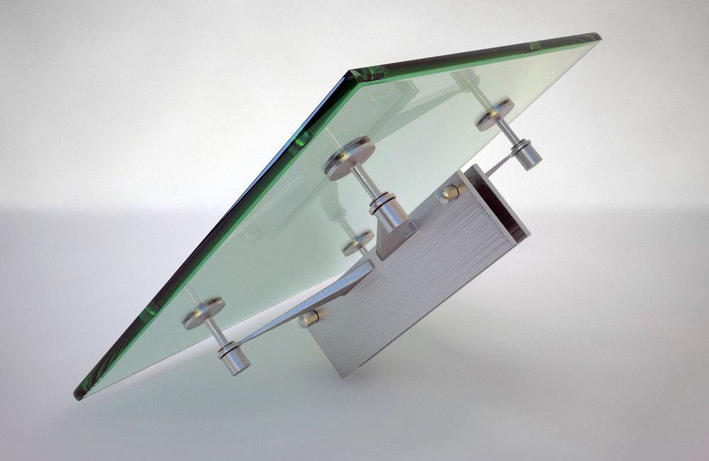 glass spider 3d model