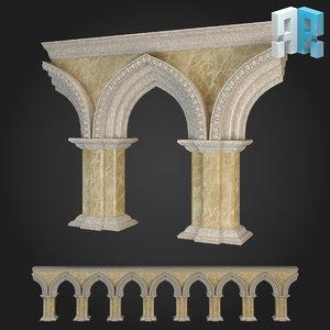 3d architectural modules
