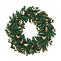 wreath christmas 3d model