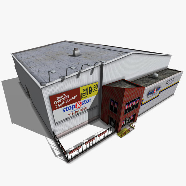 3d model warehouse storage